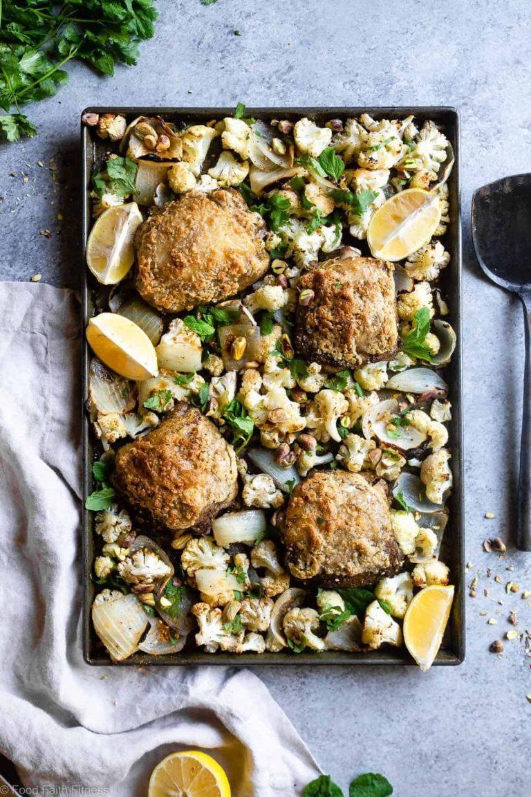 Muslos de pollo Paleo Za'atar - Food Faith Fitness